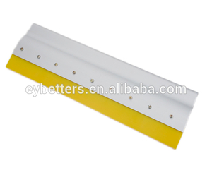 aluminium handle squeegee rubber for screen printing