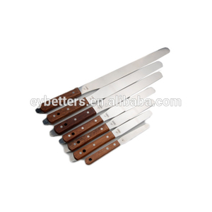 spatula steel stainless screen printing flexible ink plastic spatula for silk screen printing industry